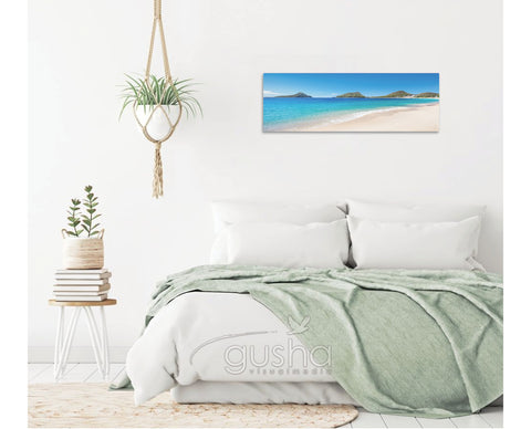 Canvas Print 91x30cm Shoal Bay PS3470