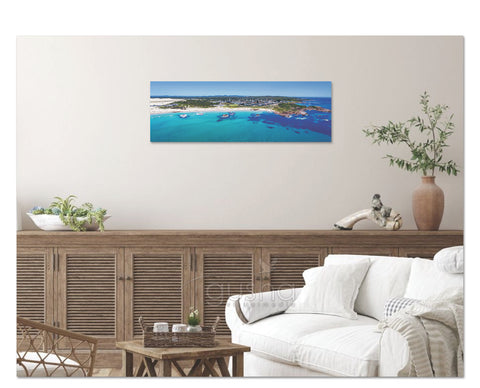 Canvas Print 91x30cm Birubi Beach PS3545