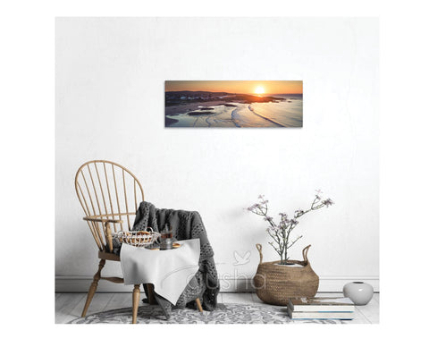 Canvas Print 91x30cm Birubi Beach PS3688