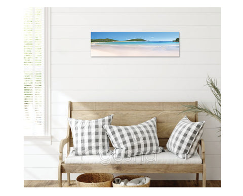 Canvas Print 91x30cm Fingal Bay PS0107