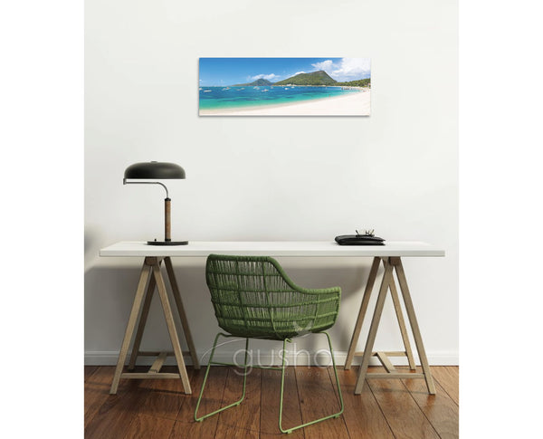 Canvas Print 91x30cm Shoal Bay PS1137