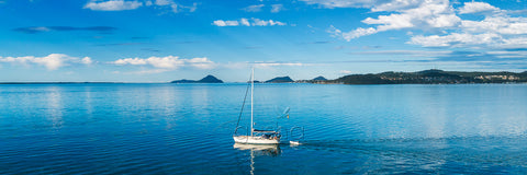 Photo of a yacht sailing at Port Stephens