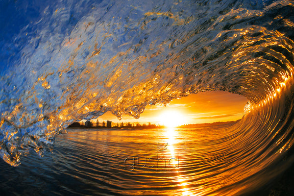 Kirra Sunset Wave photo