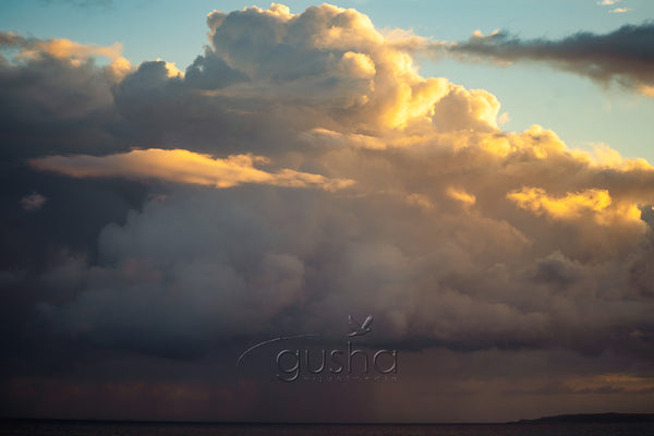 Redhead Beach storm cloud Photo