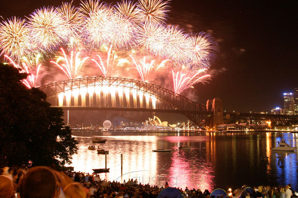 Photo of New Years Eve Fireworks SYD2031 - Gusha