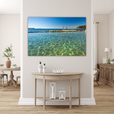 Canvas Print 114x75cm Fairy Bower Pool SYD2592