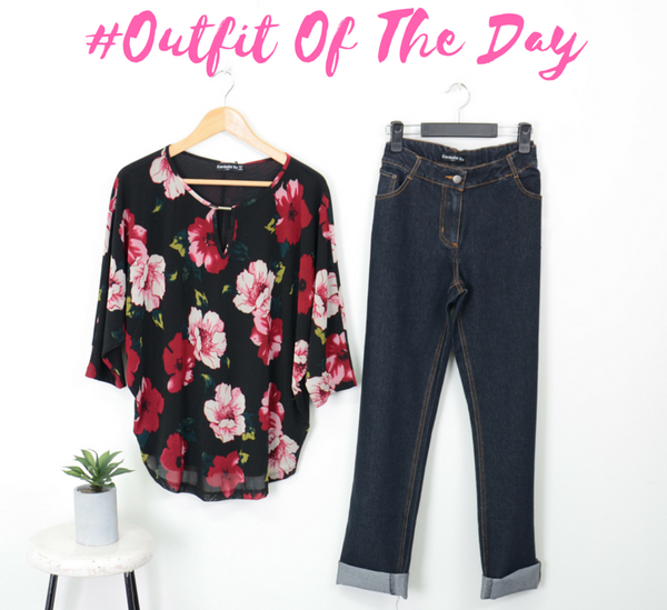 Cordelia St Outfit how to style outfit jeans top chic