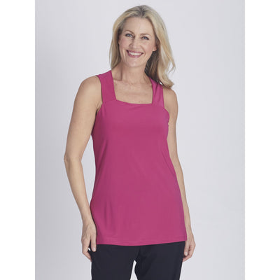 Essential Tank Top - Hot Pink - Tops