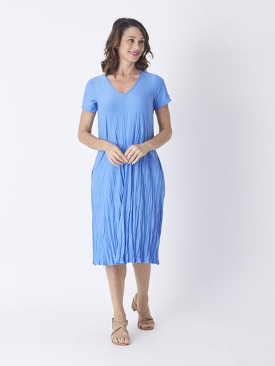 Stella Dress Denim - Occasion Dresses