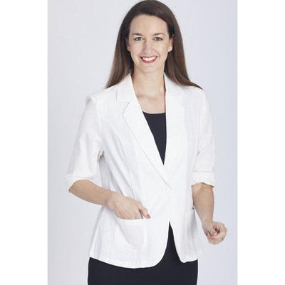 SALLY MUST HAVE JACKET - WHITE - Jackets & Outerwear