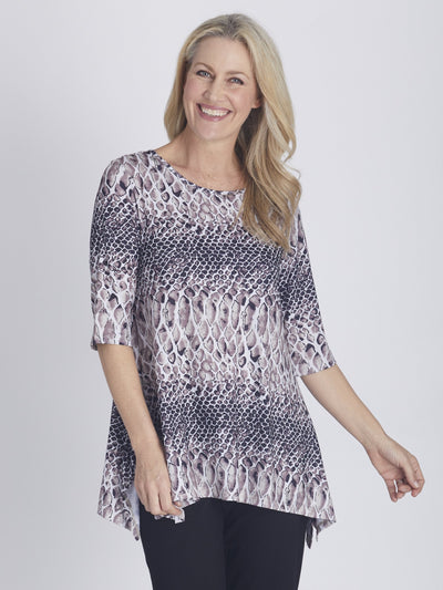 Andrea Print Top - Animal - OPM