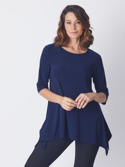Swing Andrea Top - Navy -