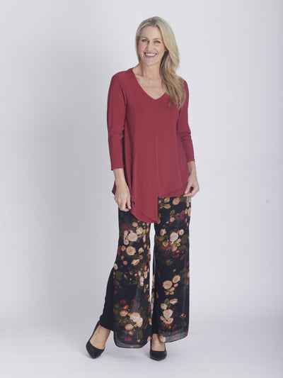 Bouquet Print Full Length Pant - OPM