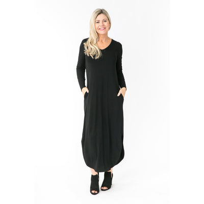 MAXI MUST HAVE DRESS - Black -