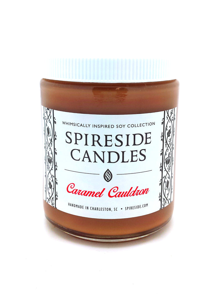 Caramel Cauldron Candle