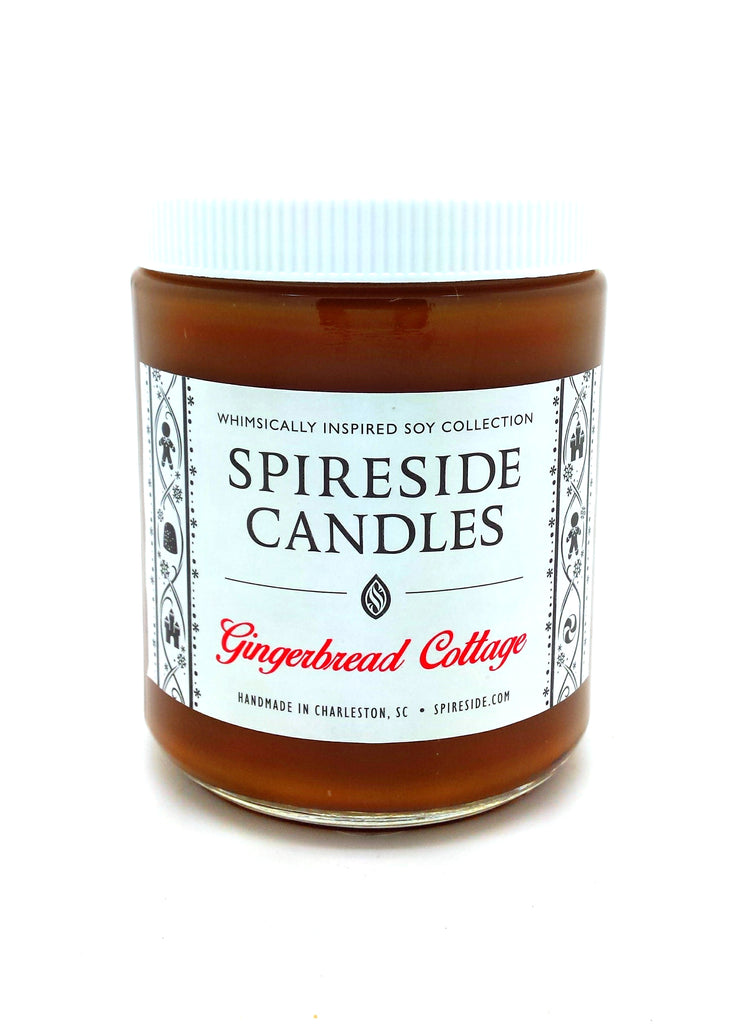 Gingerbread Cottage Candle