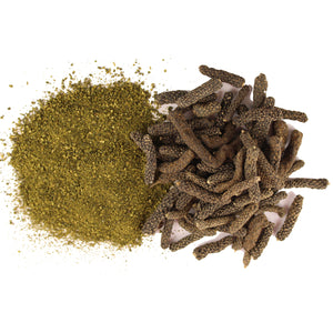 Long Pepper | Lindi Pimpli | Pippali | Thippili | Pipal Badi | Bronchitis  Powder - 100g