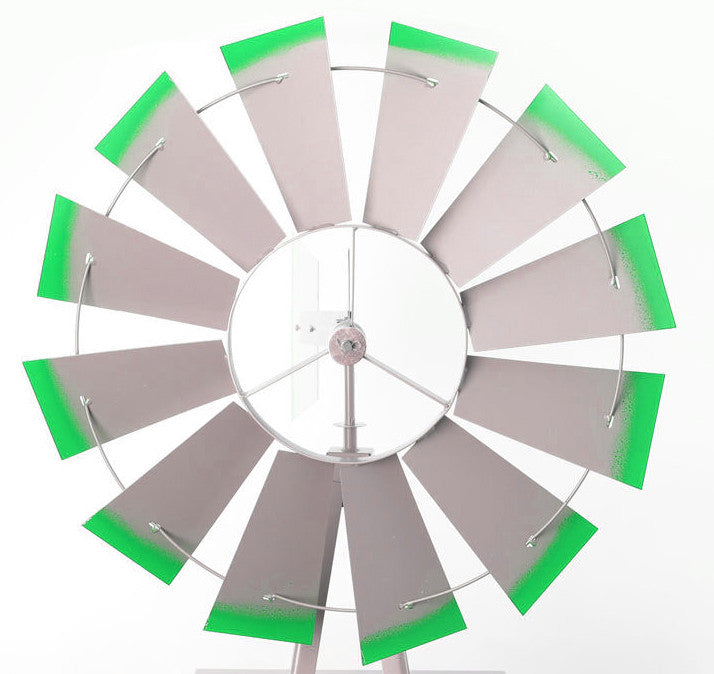 1800mm metal windmill for the garden