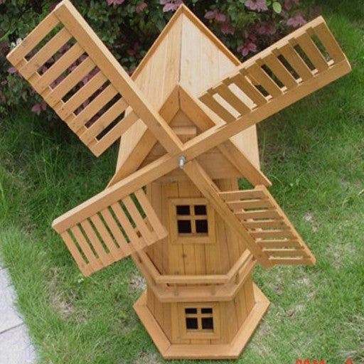 Wooden Garden Windmill 900mm