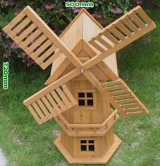 Wooden Garden Windmill 700mm