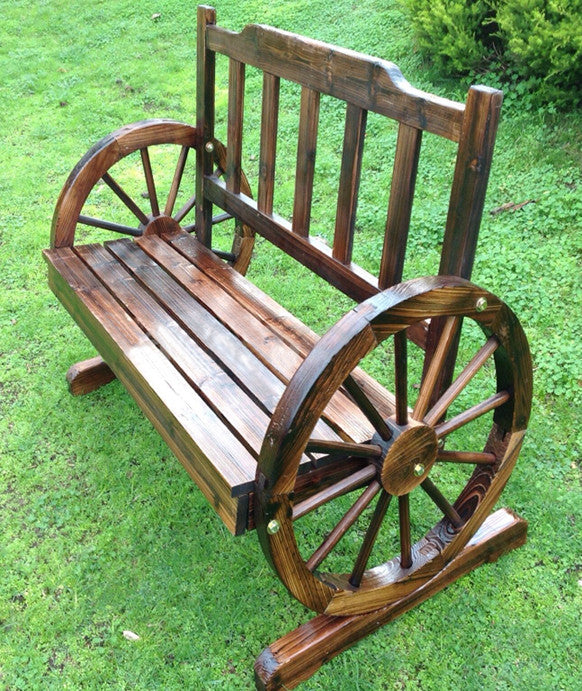 Country Feel Timber Garden Bench Seat