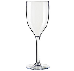 Palm unbreakable wine glass