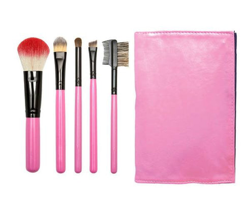 Pretty in Pink Travel Brush Set