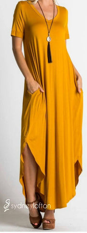 V-Neck Maxi *multiple color options available*