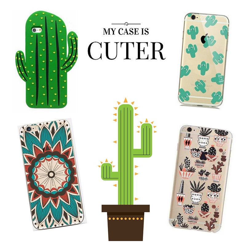 Succulent Cactus iPhone Cases are as Hot as July!