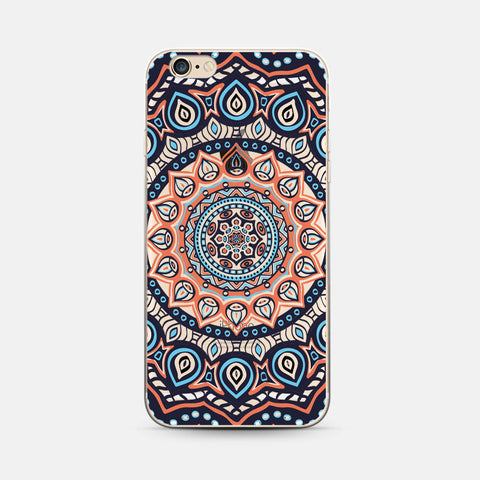 Boho Mandala Soft Case for iPhone 6plus 6s Plus