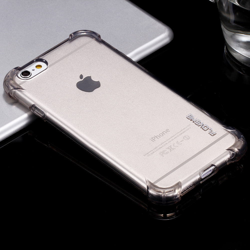 Splinternye Crystal Clear Protective iPhone Bumper Case for 6 6s, 6 Plus 6s OD-41