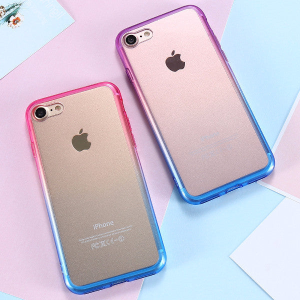 uk availability 06f74 770af Gradient Rainbow Color Cases for iPhone 7