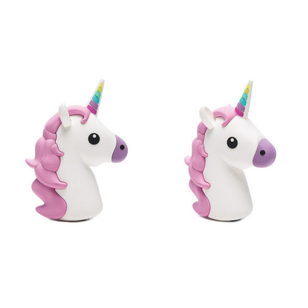 Kawaii Unicorn Emoji Portable Powerbank Charger Accessory for IOS & Android Phones