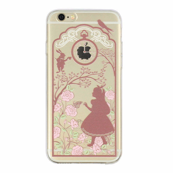 Victorian Style Alice Case for iPhone 5 5s 6 6S 6S Plus Fun