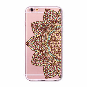 Sunflower Mandala Boho Case for iPhone 5 5s SE 6 6s