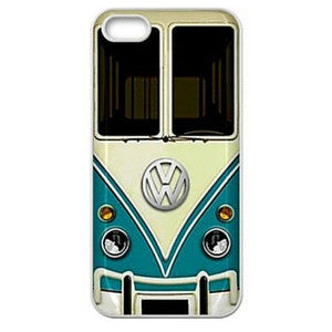 Fun Vintage VW Volkswagen Bus Hard Case Cover for iPhone 4 4s 5 5s 5c 6 6plus