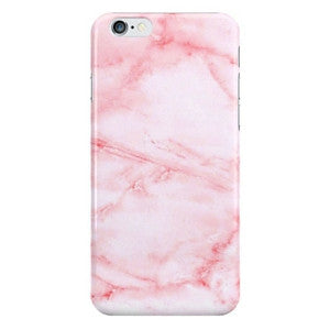 Pink Cotton Candy Marble Soft Case For iPhone 6 6s. 6s Plus