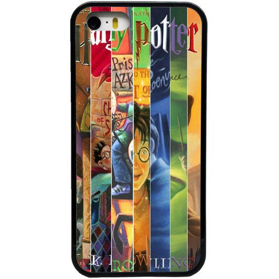 Harry Potter Book Cover Phone Case : Harry potter all books cover case for iphone plus my