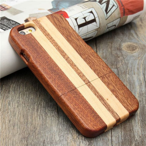 "Wave Rider Men's Wood iPhone 6 4.7"" Cover Hand Shaped"