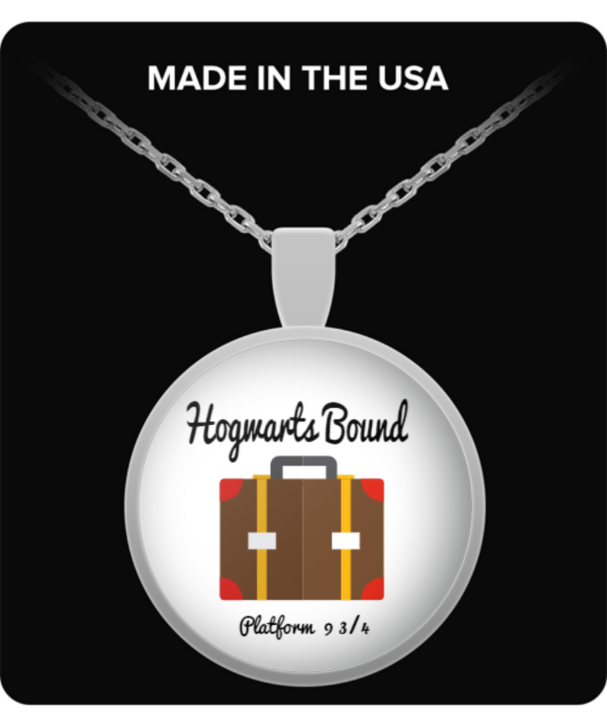Hogwarts Bound Platform 9 3/4 Necklace Harry Potter