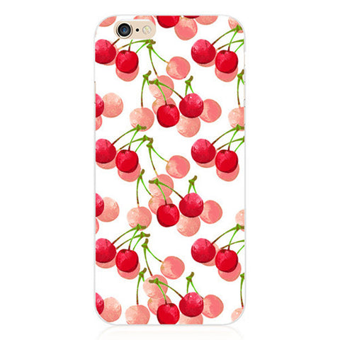 Cherries Forever Case for Apple iPhone 6 4.7 Inch Fruit