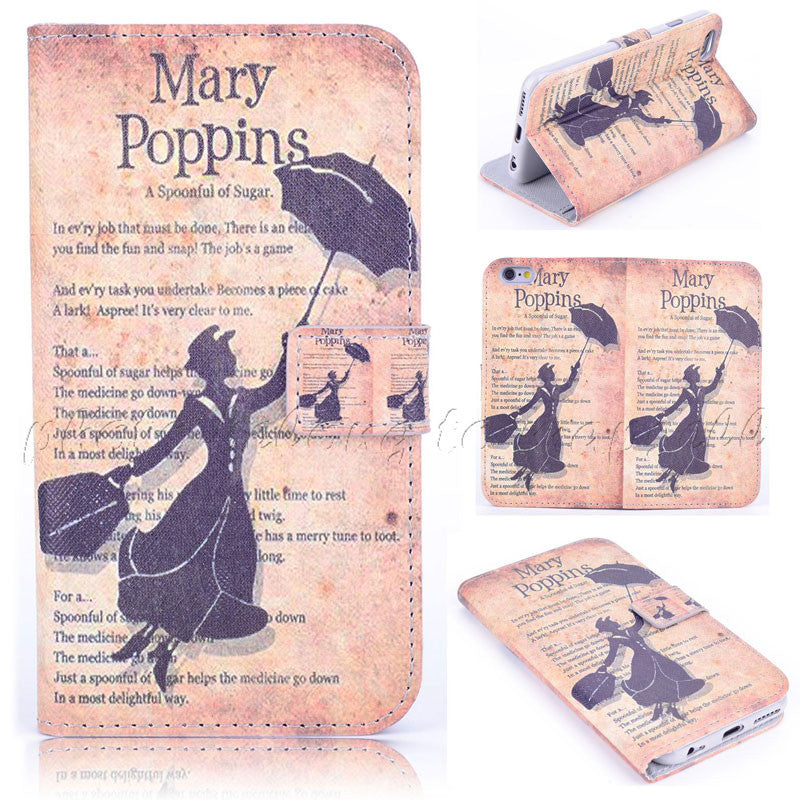 Spoonful of Sugar Flip Wallet Fun Case for IPhone 6 4.7""
