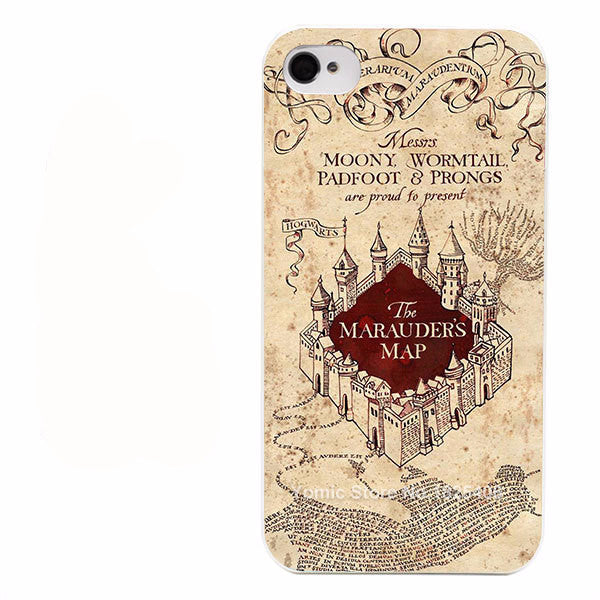 Harry Potter Marauder's Map Case for iPhone
