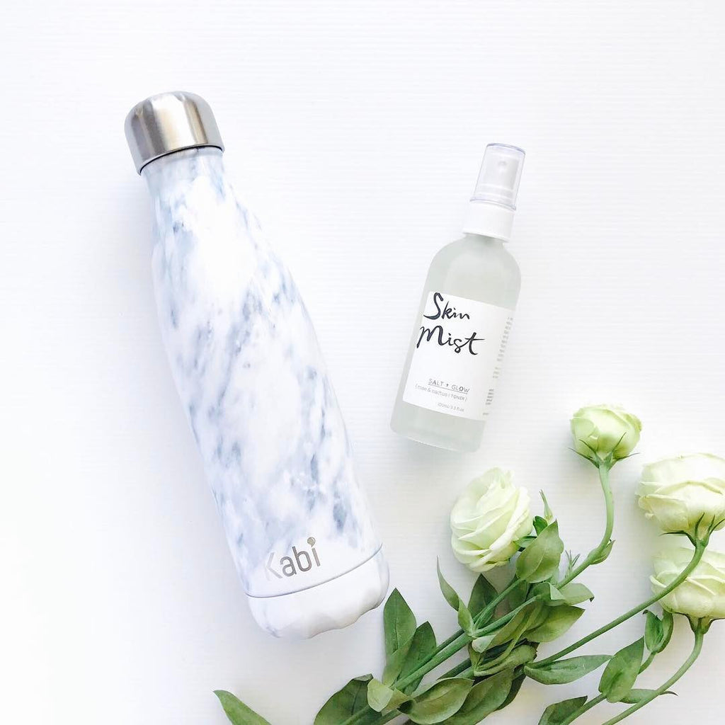 White Marble Kabi Bottle 500ml