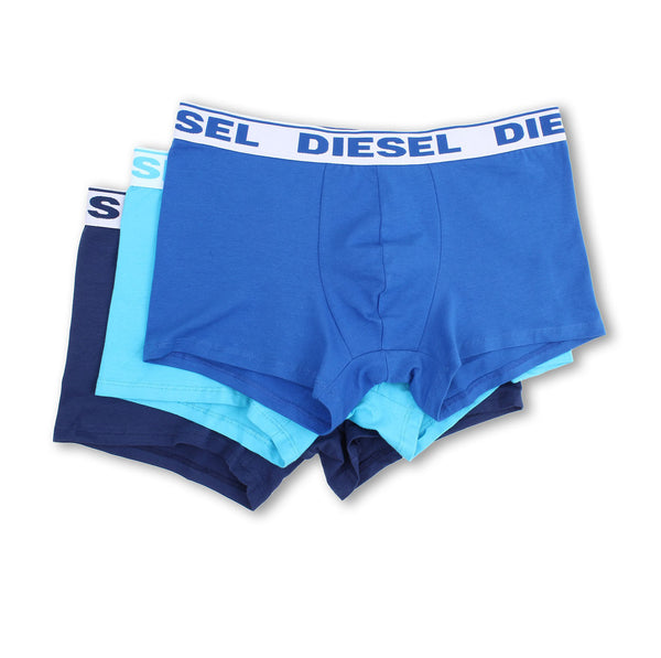Diesel Shawn Boxer 3-Pack Blue Shades