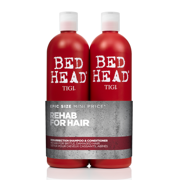 TIGI Bed Head RESURRECTION Tween Duo 2 x 750ml Shampoo & Balsam