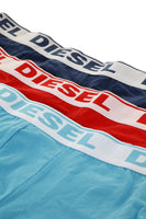 Diesel Shawn Boxer 3-Pack Light Blue, Navy and Red
