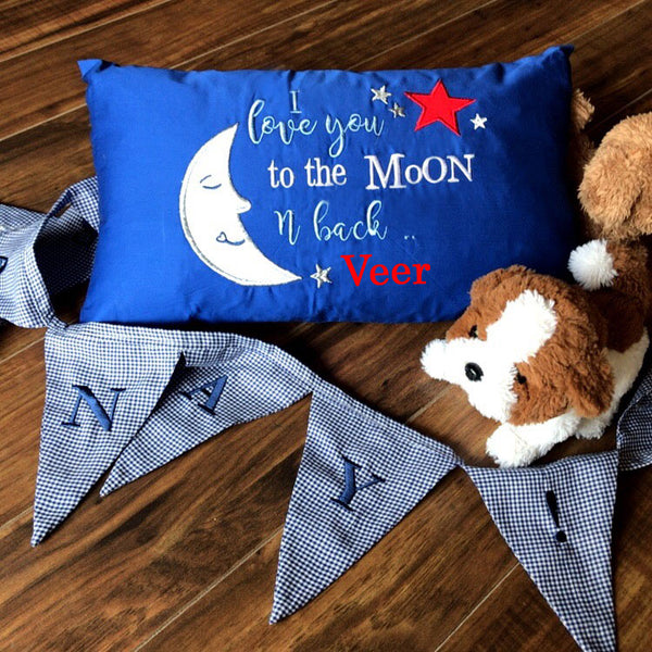 Love you to the moon - Kids Cushion - LoveThisStuff