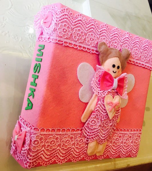 Kids handcrafted album- Princess