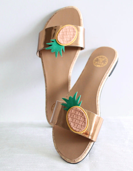 The Pineapple Sandals